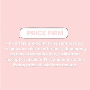 Price Firm Listings